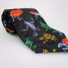 ADDICTION Men's New Tie FROGS NWOT Necktie Ties ST0213