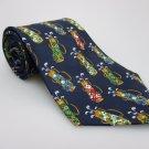 417 By VAN HEUSEN Men's New 100% Silk Tie Golf NWOT Necktie Ties ST0210