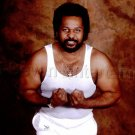1980s African American Strongman Muscles Jheri Curl Vintage 8x10 Old Color Photo