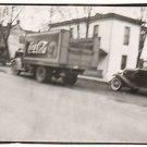 1940s Vintage Coca Cola Truck Old Photo Coke Soda Signs Factory Bottle Original