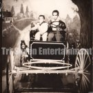 Vintage African-American Children in Old Car Medium Photo Booth Black Americana