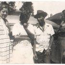 1940s African American Pretty Women Man Hat Old Group Photo Black People Vintage