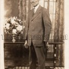 Antique African American Handsome Man Real Photo Postcard RPPC Black Americana