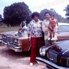1974 Vintage African American Family 8x10 Photo Original Black Americana People