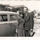 1940s Pretty African American Woman Handsome Man Vintage Photo Black Americana