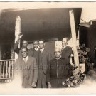 1930s Group of Well Dressed African American Men Antique Photo Black Americana