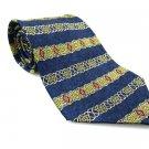 METROPOLITAN MUSEUM OF ART Men's New 100% Silk Tie Blue NWOT Necktie Ties BL0171