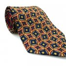 TOMMY HILFIGER Men's New 100% Silk Tie Blue Red Yellow NWOT Necktie Ties BL0172