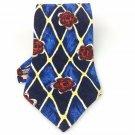Men's New Geoffrey Beene 100% Silk Tie Blue Red Floral NWOT Necktie Ties ST035
