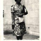 Vintage African American Photo Older Woman People Women Old Black Americana