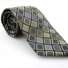 Men's New PERRY ELLIS PORTFOLIO 100% Silk Tie Green NWOT Necktie Ties GR092