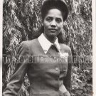 Vintage African American Photo Pretty Woman Army Nurse Corp Old Black Americana