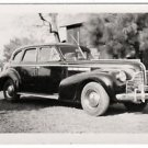 1940-1949 Vintage Car Old Photo Classic Picture Black White Automobile Americana