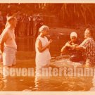 Vintage African American Woman Getting Baptized Photo Black Christian Americana