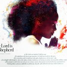 The Lord Is My Shepherd 18x24 Girls Poster Scripture Prayer God African American