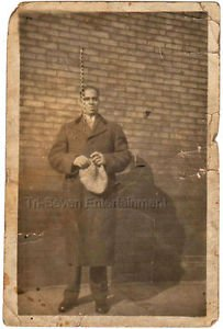 1920-1929 Vintage Handsome Well-Dressed African-American Man Photo Black People