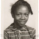 1950s-60s Darling African-American Girl School Class Old Photo Black Children