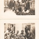 1930-1939 Vintage Attractive African-American Young Black People Old Photo LOT 2