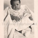 Vintage Adorable African-American Baby Girl Studio Photo Black Americana Child