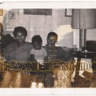 Vintage African American Photo Family Mother Children Group Old Black Americana