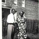 Vintage African American Photo Older Woman Young Man Women Old Black Americana