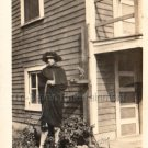 1930s Vintage Fashionable African-American Woman Old Photo House Black People US