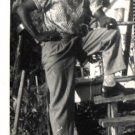 Vintage African American Photo Handsome Man Men Well Dressed Old Black Americana