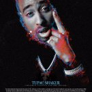 Tupac Shakur 18x24 Color Wall Art Poster Print with Bio African American Rapper