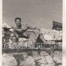 Vintage African American Photo Beautiful Woman in Europe Old Black Americana