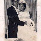1962 Vintage African-American Married Couple Old Photo Black People Man Woman