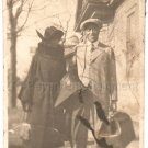 1930s Affluent Well-Dressed African-American Couple Photo Man Woman Black People