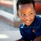 African-American Black School Boy Photo (8x12) Children Cute Kid Photo Color USA