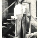 Vintage African American Photo Handsome Man Men Suit Picture Old Black Americana