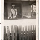 1940s Vintage African American Man Soldier Old Photo Army Military Black People