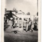 Vintage African American Photo Athletic Boy Children People Old Black Americana