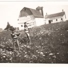 1950-1959 Vintage Kids on Outing Fun Photo Field Trip Old American Original B&W