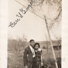 Antique Photo Good Looking African American Couple Black Americana Pretty People
