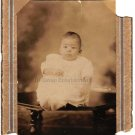Antique Adorable African American Baby Girl Cabinet Card Photo Black Americana