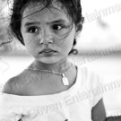 Pretty Hispanic Young Latina Girl Gorgeous Eyes 8X12 Contemporary Photo Original