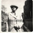 Vintage African American Photo Older Dignified Woman Posing Old Black Americana