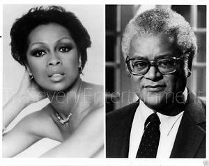 """Lola Falana Photo Rev. James Lawson NBC """"At One With"""" African-American 1980s"""