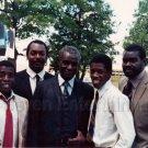 1984 Kadeem Hardison Moses Gunn African-American Actors On Movie TV Set Photo