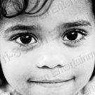 African-American Mulatto Girl w/Gorgeous Eyes 8X12 Contemporary Photo Original