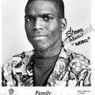 Shavar Ross Signed WEASEL Family Matters Cast Urkel TV Show 8x10 Vintage Photo