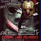 Melanie Kinnaman & Shavar Ross Hand Signed Crystal Lake Memories Blu-ray DVD