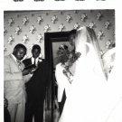 Vintage African American Photo Wedding Marriage Couple Old Black Americana