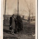 Antique African American Photo Well Dressed Woman Posing Old Black Americana
