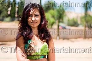 Pretty Woman w/Beautiful Hair Photo Latina Hispanic Model Sexy Girl Color USA