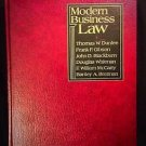 Modern Business Law by Thomas W. Dunfee (1984, Hardcover)