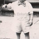 1940-1949 Vintage Cutely Dressed American Little Boy Old Photo Steps Children US